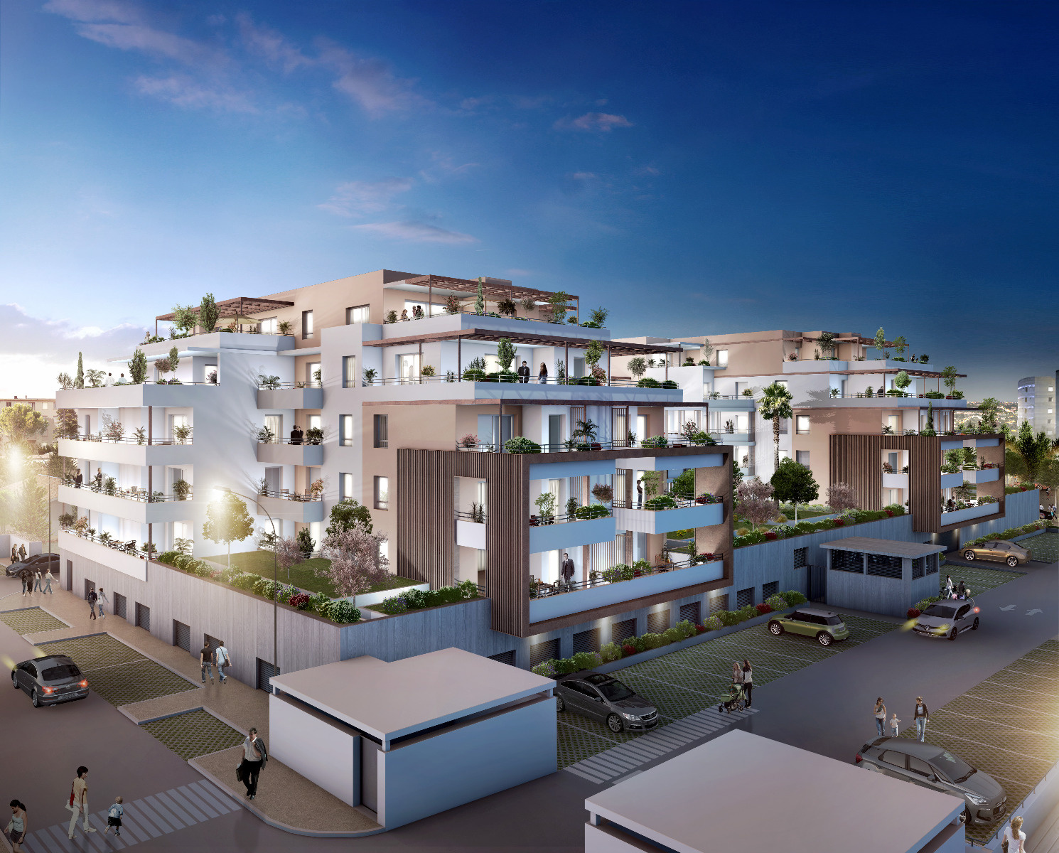Offres programmes neufs nimes vente appartement neuf type p2 for Vente logement neuf